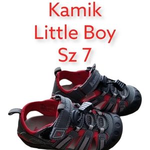 Kamik Little Boy Sz 7 Summer Hikers